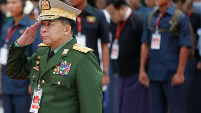 """ONU """"não tem o direito de interferir"""" em Myanmar, diz o chefe do Exército"""