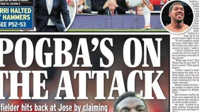Lá fora: O ataque de Pogba, a Juve de Ronaldo e as críticas ao VAR