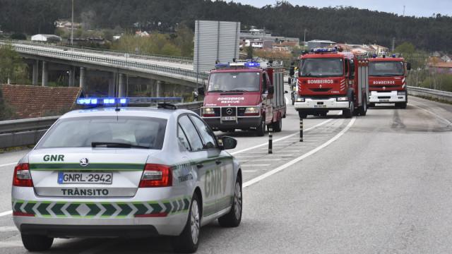 GNR perseguiu ladrões que se despistaram à entrada da Ponte 25 de Abril