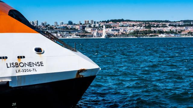 Governo autoriza repartição de encargos com catamarãs da Transtejo