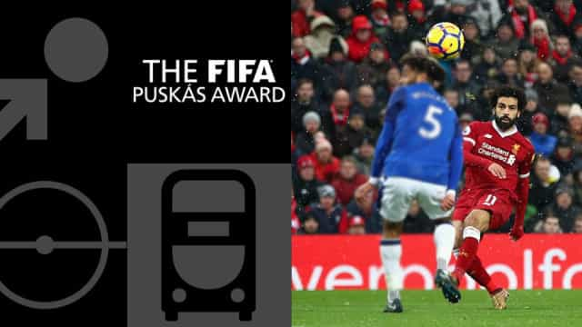 Prémio Puskas: Salah vence e leva a melhor sobre CR7 e Quaresma