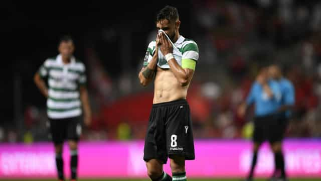 A mensagem emocionada de Bruno Fernandes após a derrota em Braga