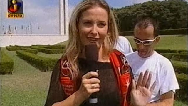 """Foram assim """"os primeiros cinco minutos de fama"""" de Cristina Ferreira"""