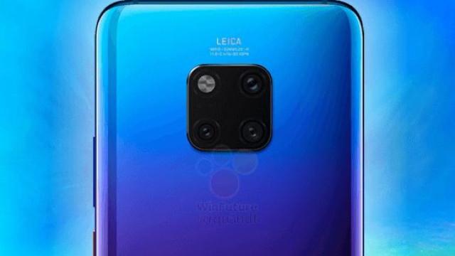 O novo topo de gama da Huawei foi (novamente) avistado em público