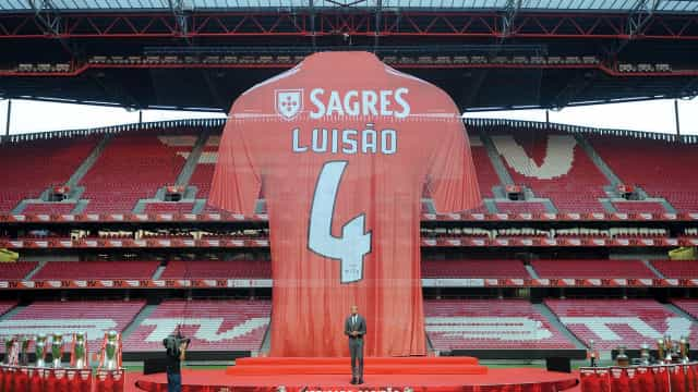 'Oh captain, my captain': Os números com que Luisão se despede do Benfica
