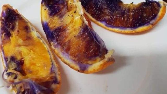 O mistério australiano da laranja que ficou roxa