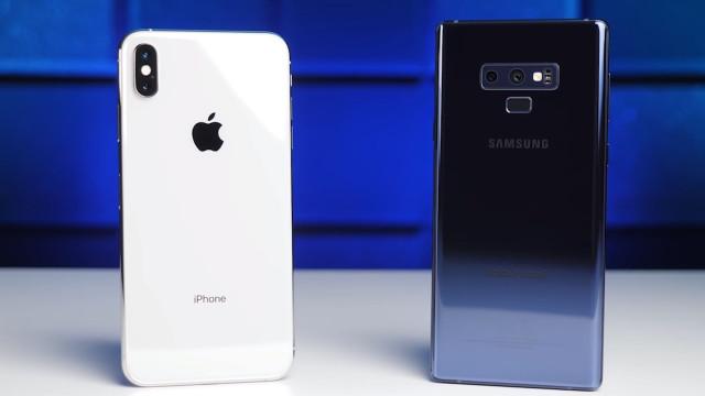 Equipas de redes sociais da Samsung usam iPhones