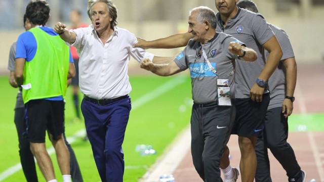 Jorge Jesus entra para a história do Al Hilal com novo recorde