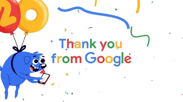 Google mostra-lhe as pesquisas mais populares dos últimos 20 anos