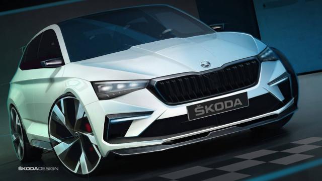 Vision RS: Skoda apresenta híbrido... que também é vegan