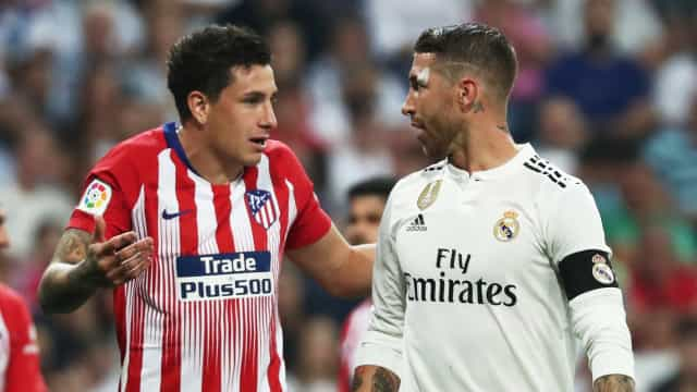 Atlético 'trava' Real Madrid no Bernabéu