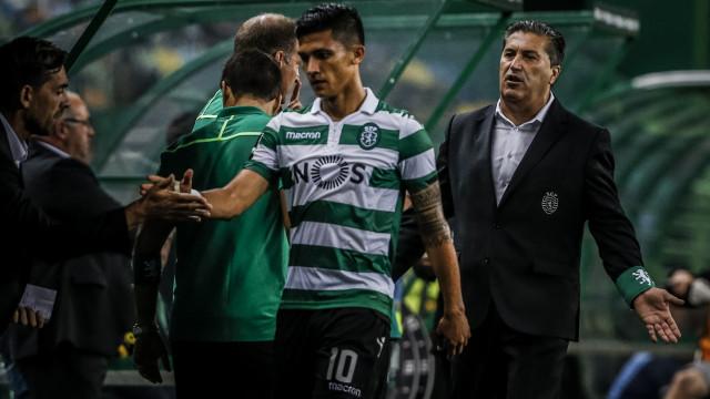 Sporting 'fintou' o Marítimo e Peseiro alcançou feito inédito na carreira