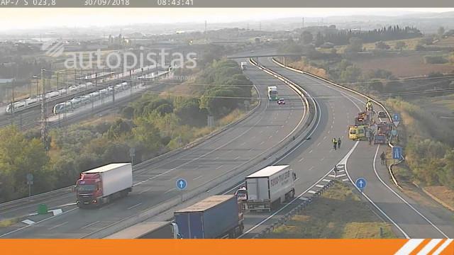 Condutor embriagado provoca acidente em Espanha com 7 feridos