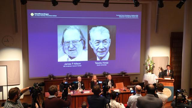 Nobel da Medicina atribuído a James P. Allison e Tasuku Honjo