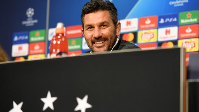 """""""O Benfica tem jogadores pouco experientes e não está tão forte"""""""