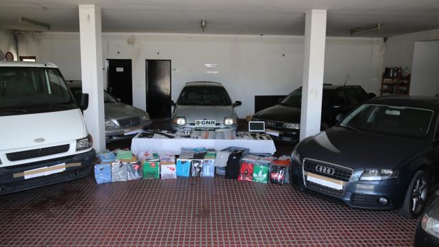 Grupo de traficantes apanhado em Seia com droga e armas proibidas