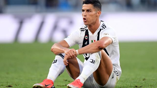 Juventus perde mais de 5% em bolsa após acusações a Ronaldo