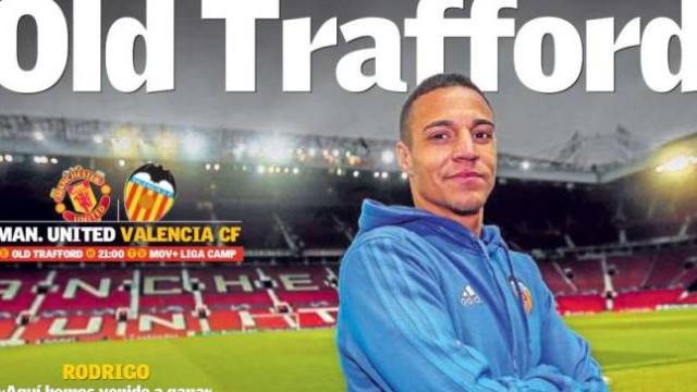 Lá fora: A garantia de Mourinho e o 'assalto' a Old Trafford