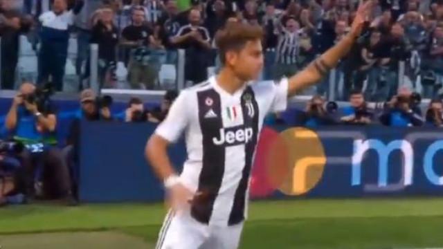 Dybala colocou a Juventus na frente diante do Young Boys