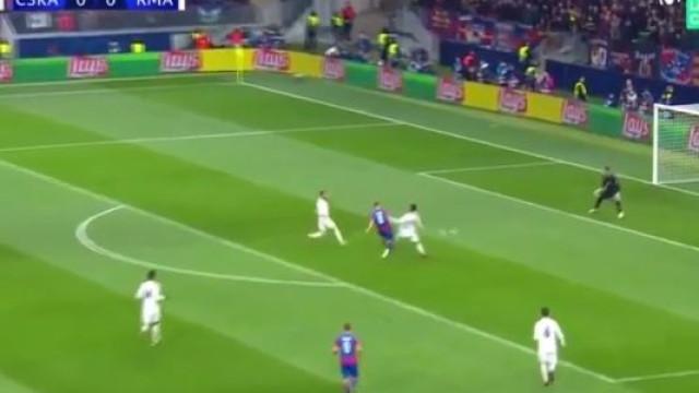 Erro incrível de Kroos deu origem ao golo do CSKA