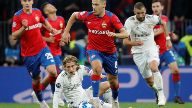 Real Madrid 'cai' com estrondo na Rússia e sai com uma derrota inesperada