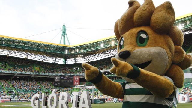 Jubas, mascote do Sporting, paga 479 euros por comportamento incorreto