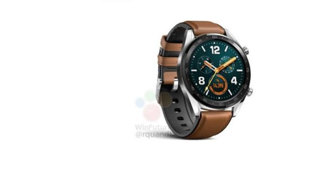 Será este o novo relógio da Huawei?