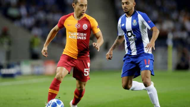 [0-0] FC Porto-Galatasaray: Intervalo no Dragão