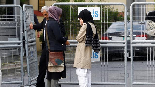 Jornalista desapareceu depois de sair do consulado em Istambul diz Arábia