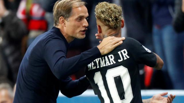 Neymar revela as palavras trocadas com Tuchel