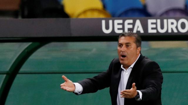 Vorskla-Sporting: Já há onzes oficiais