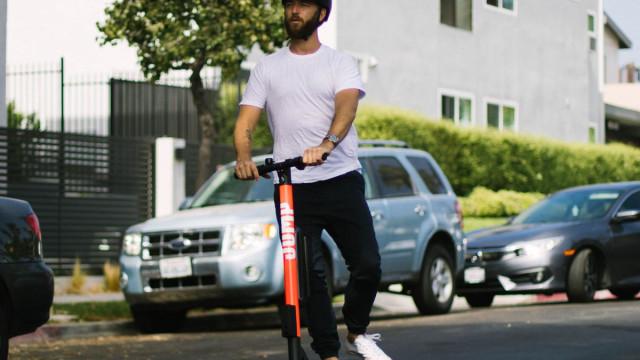 As scooters elétricas da Uber já chegaram aos EUA