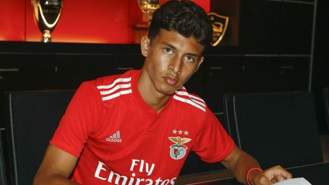 Jeremy Sarmiento: Benfica confirma contratação de jovem talento