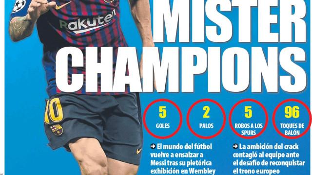 Lá por fora: Mister Champions, os envelopes da Juve e o sucessor de Xavi