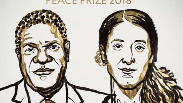 Denis Mukwege e Nadia Murad vencem o Nobel da Paz 2018