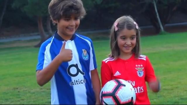 """Benfica-FC Porto: O Clássico de """"gerações"""" e para """"toda a família"""""""