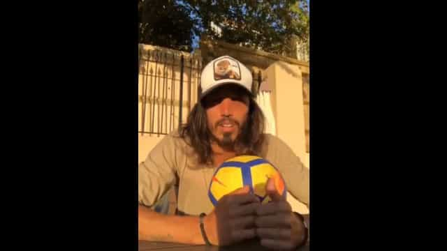 Ex-jogador do Sporting solidário com Jubas