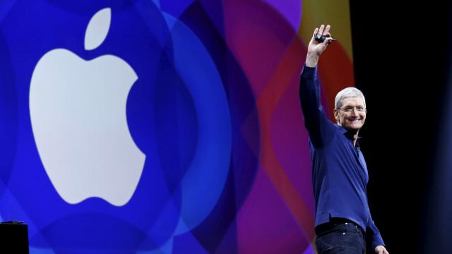 Quantas vezes se ouviu a palavra 'apple' na última apresentação da marca?