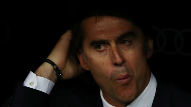 """""""Cruzei-me com Lopetegui e Florentino e pensei: 'Isto é uma tragédia'"""""""