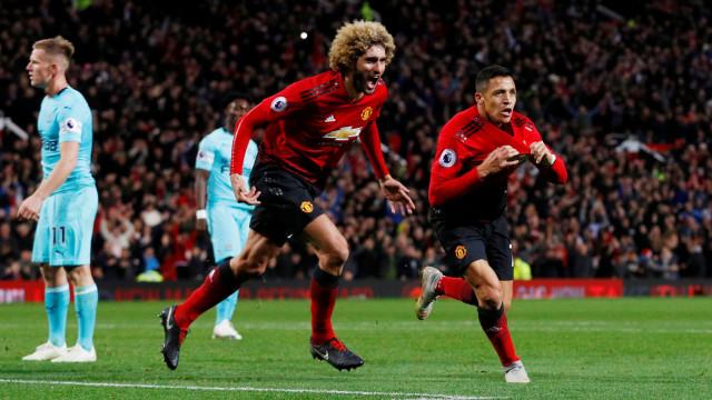 Fellaini revela conversa de Mourinho que levou United à vitória