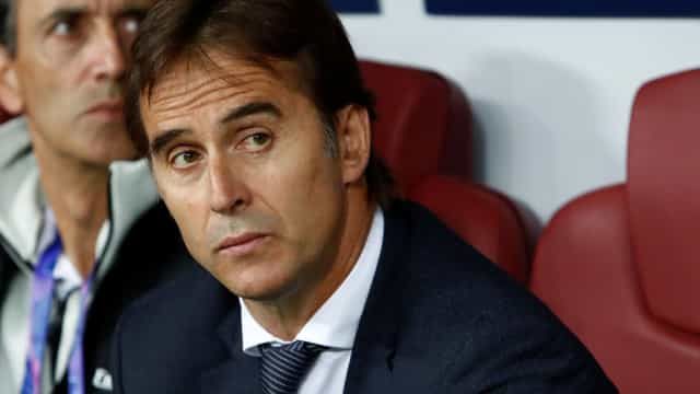 Lopetegui já reagiu ao despedimento do Real Madrid