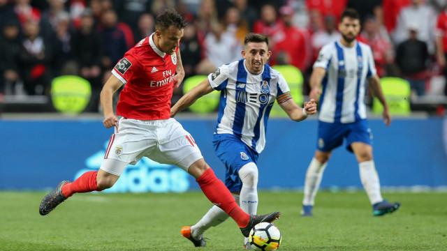 [0-0] Benfica-FC Porto: Dragões pedem grande penalidade