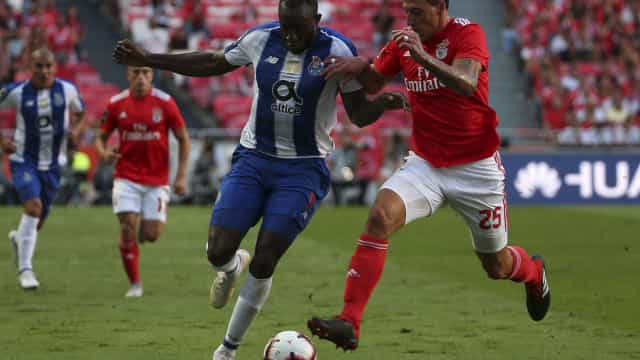 [0-0] Benfica-FC Porto: Intervalo