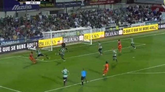 Manafá marca para o Portimonense e põe leão a correr atrás do marcador