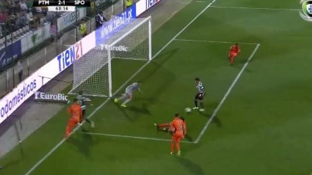 Montero reduz para o Sporting e faz leão acreditar na 'remontada'