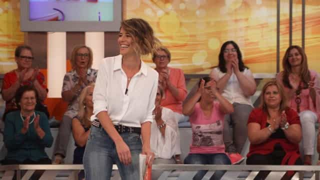Leonor Poeiras recebe diferentes opiniões sobre estreia no 'Você na TV'