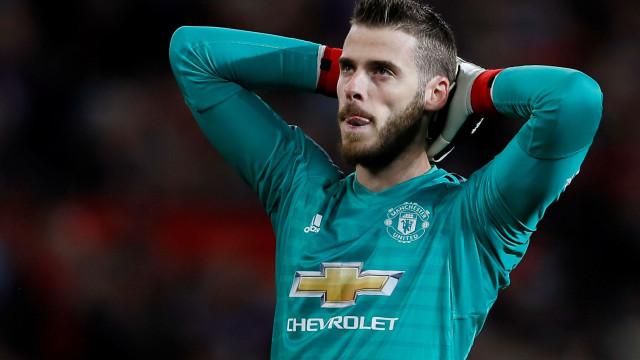 De Gea só renova depois de saber futuro de Mourinho