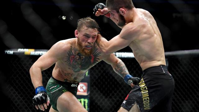 UFC: McGregor e Khabib suspensos temporariamente