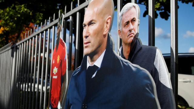 Nasce um dilema em Manchester: Mourinho ou Zidane? Eis a questão