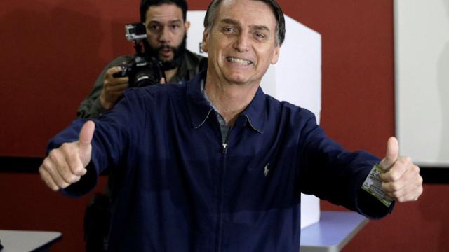 Empresários brasileiros animados com provável vitória de Bolsonaro